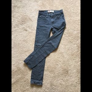 Youth Levi's Dark Gray Skinny Jeans